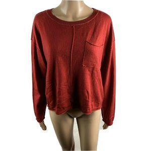 Sundance Sweater Wool Alpaca Elbow Patch